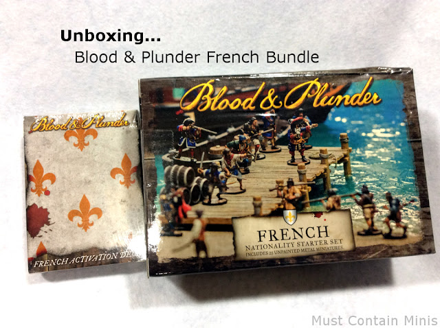 Blood & Plunder French Nation Starter Set