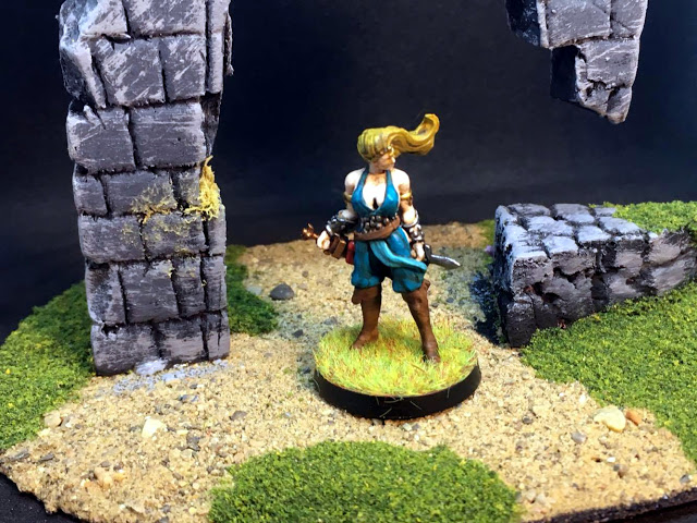 Painted Miniatures from Conan the Board Game