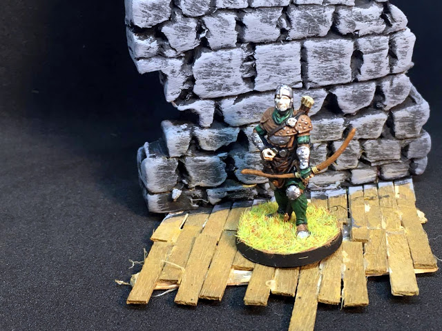 Painted Miniatures from Conan the Board Game - Archer