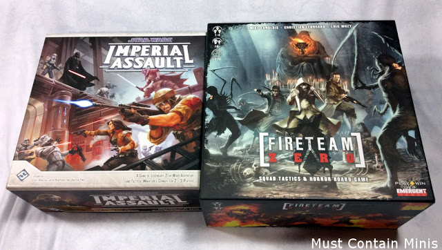 Fireteam Zero vs Imperial Assault