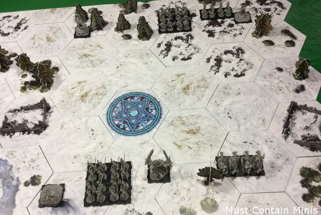 Table Deployment in Runewars the Miniatures Game