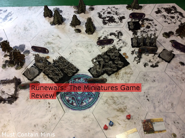 Review of Runewars The Miniatures Game by Fantasy Flight Games