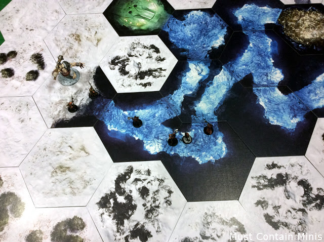 Playing Frostgrave or D&D on TerraTiles