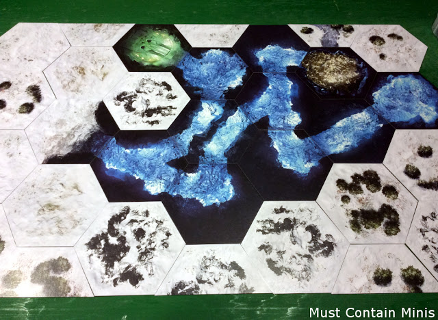 Underground terrain for RPGs and Frostgrave