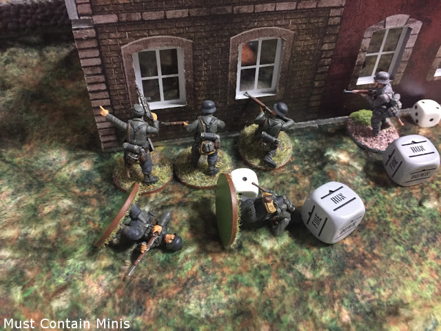 German Casualties in Bolt Action