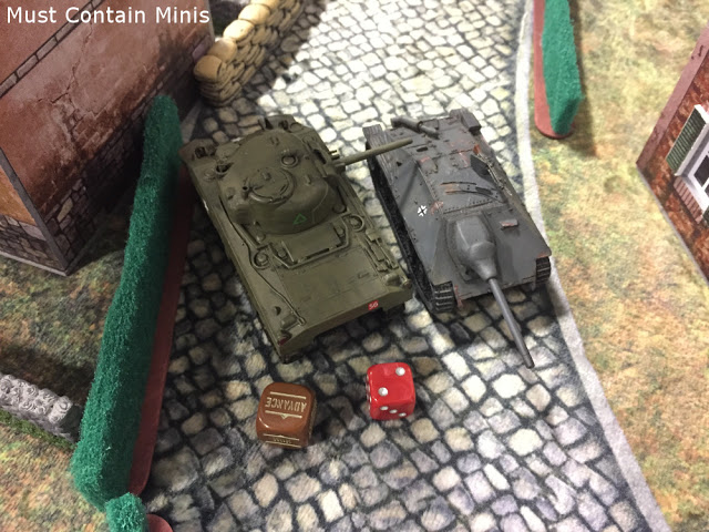 Bolt Action - StuG vs Sherman