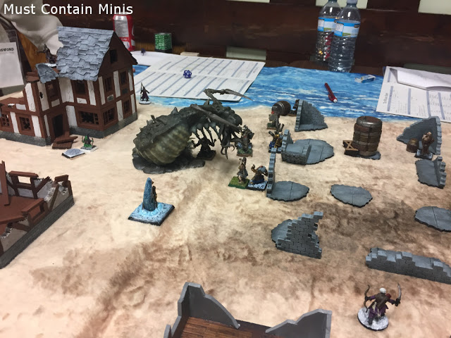 Cthulhu theme in Frostgrave