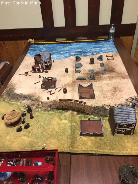 Frostgrave Archipelago like table using the original Frostgrave Rules