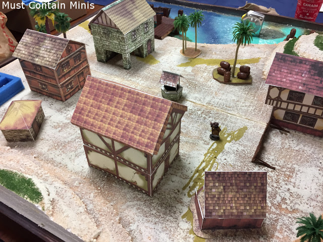 Gaming with Paper Terrain - Must Contain Minis [MCM]
