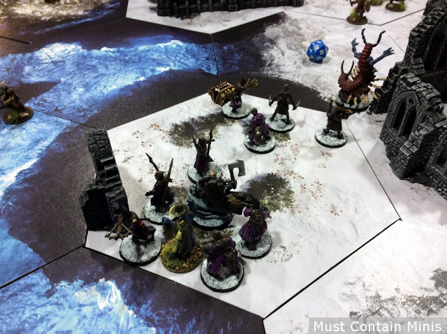 Using the Undertaker as an alternative figure Necromancer in Frostgrave