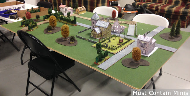 Wargaming with Paper Buildings / terrain
