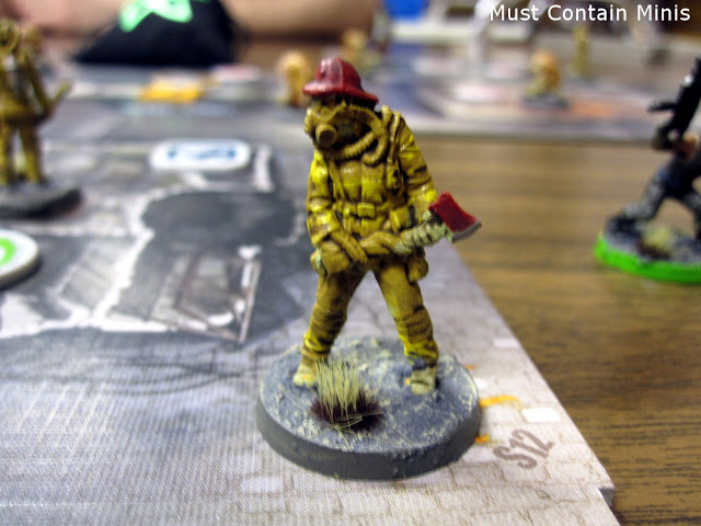 The Others Firefighter Miniature