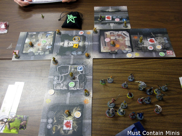 Review and Play Through / Battle Report / AAR of The Others Board Game