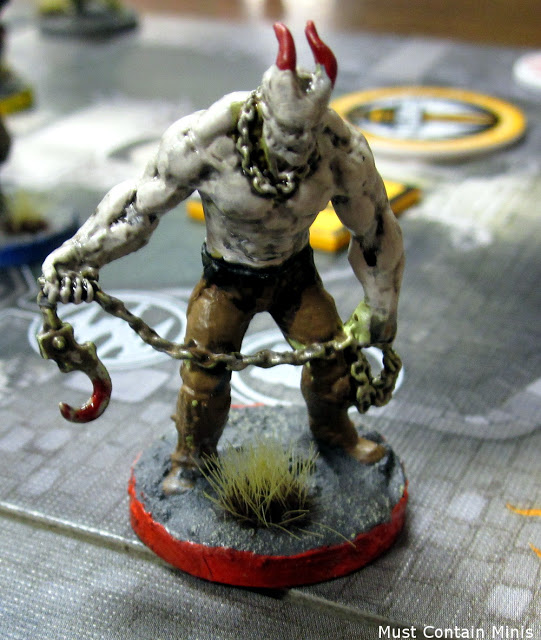 Thorley Painted Player Character in The Others Board Game
