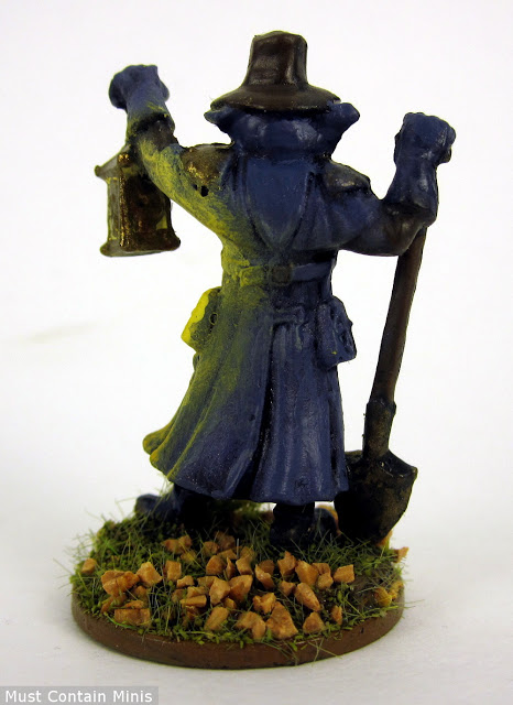 A Painted Undertaker Miniature by Reaper Miniatures