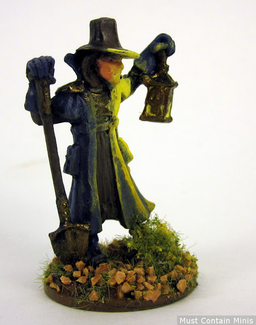 Painted Undertaker by Reaper Miniatures