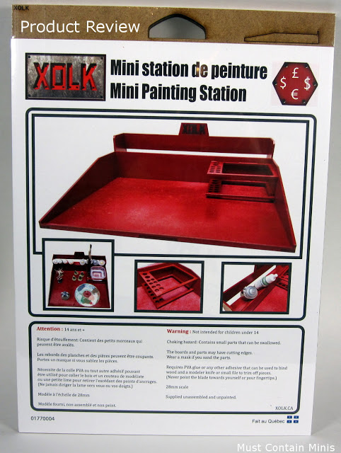 Product Review - Portable Paint Station for Miniatures