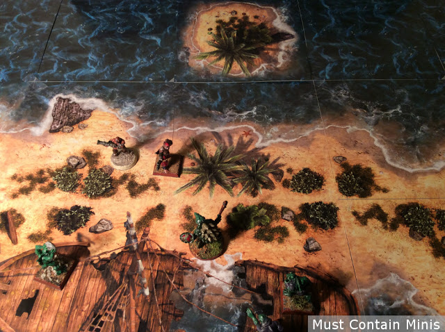 Wargame terrain for Blood & Plunder or Ghost Archipelago