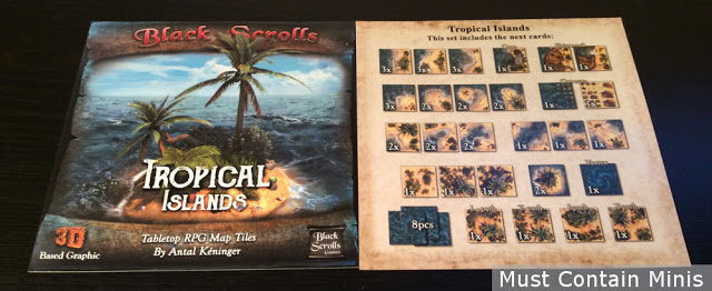 Tropical Islands Terrain Tiles for Wargames and RPGs