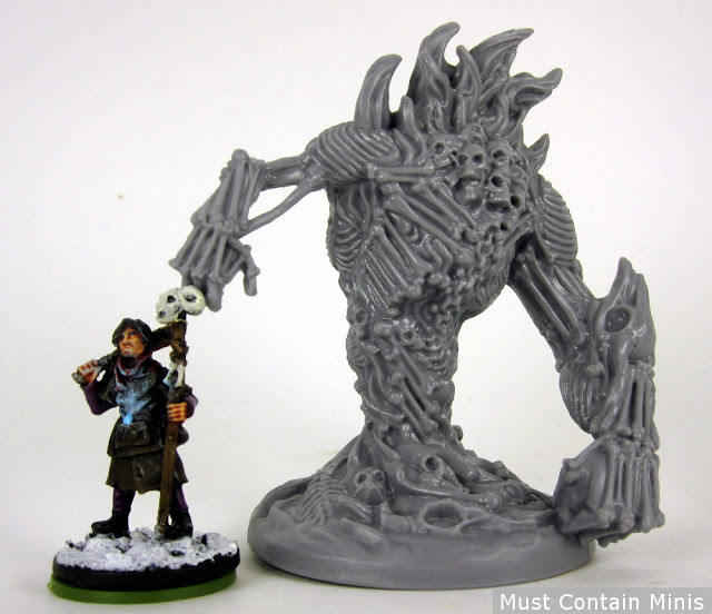 Frostgrave to Fireteam Zero Scale Comparison