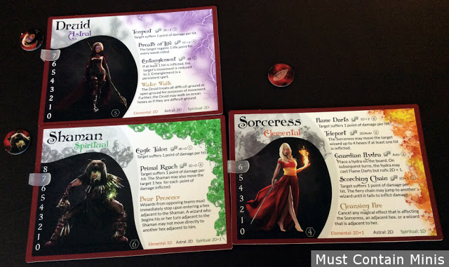 Incantris Wizard Cards
