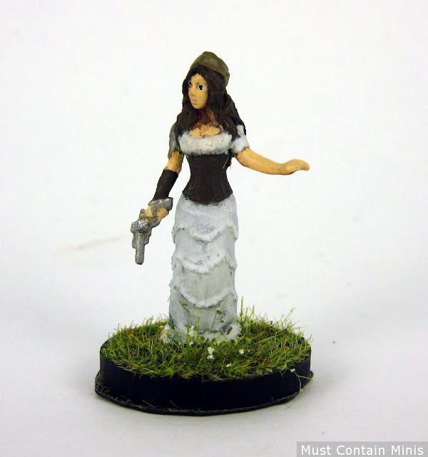 Abney Park Kristina Erickson Miniature