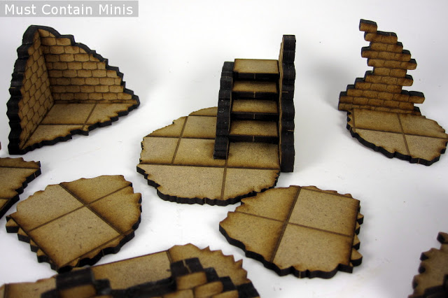 MDF Stairs in 28mm