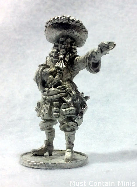 Unpainted French Captain by Firelock Games