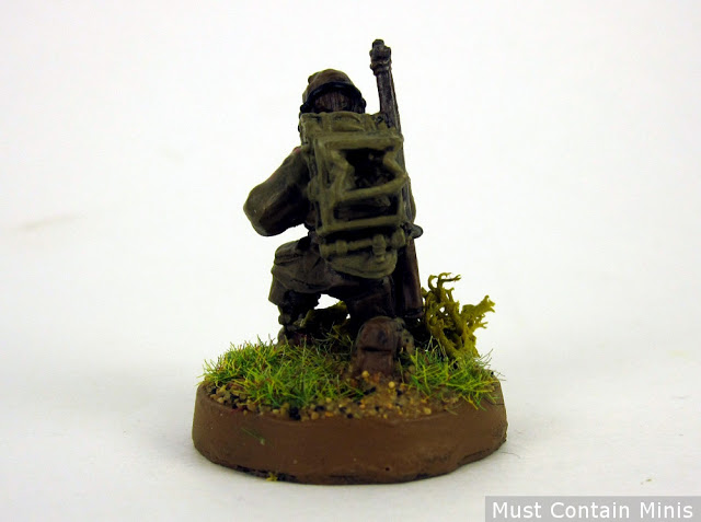 British Forward Observer Bolt Action - Radio on Back