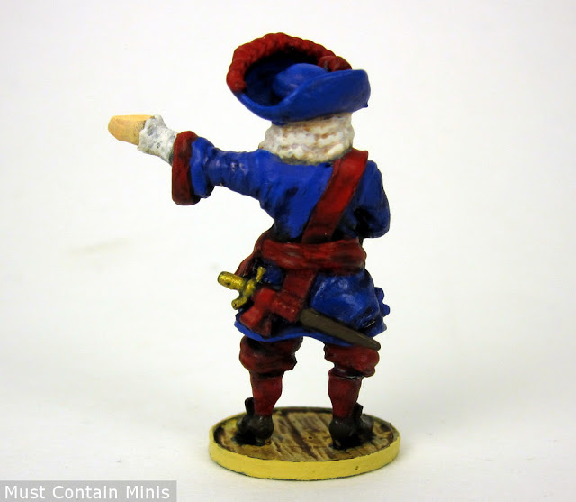 Rear of the French Captain