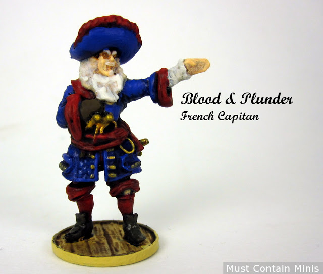 The Blood & Plunder French Captain Showcase