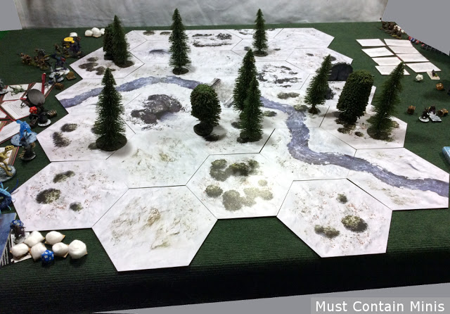 Frostgrave Table using TerraTiles