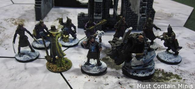 Frostgrave Necromancer Warband