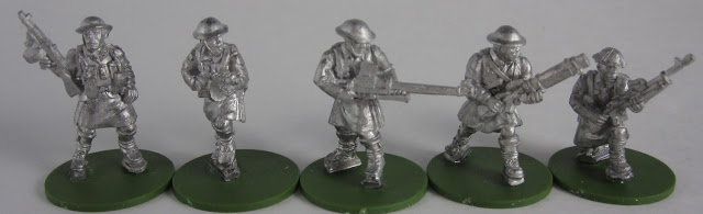 WW2 Soldiers in Kilts Unpainted