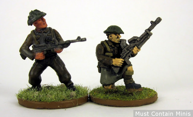 Scale Comparison - Pulp Figures to Warlord Games (Bolt Action)