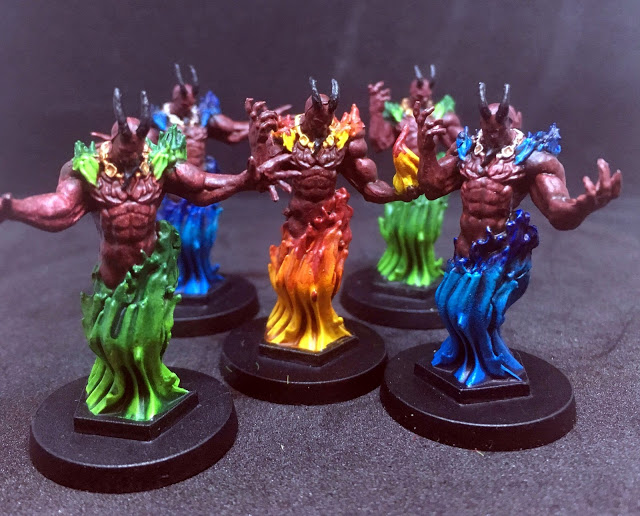Painted Efreet Miniatures - Sword & Sorcery Board Game