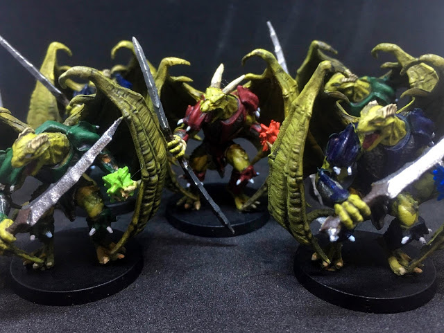Drakonian Painted Miniatures - Sword & Sorcery Board Game - DragonLance Proxy Miniatures