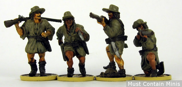 French Boucanier Miniatures for Blood & Plunder - Firelock Games
