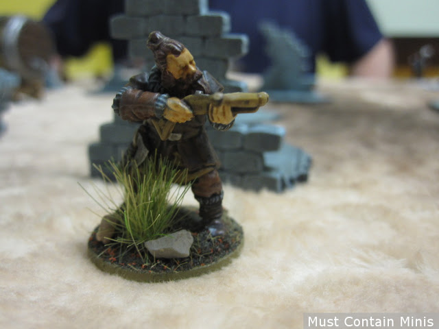 Barbarian Crossbowman Miniature - Frostgrave