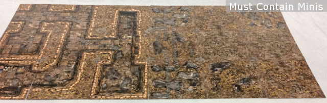 28mm Trenches table for Miniature Wargames (Warhammer, 40K, Bolt Action, WW1)