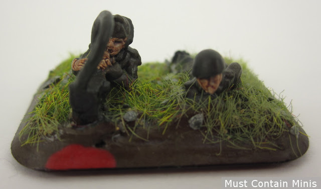 Italian Spotters Painted as Germans - Flames of War