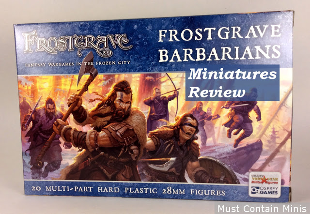 Top 5 of 500 posts - Review of Frostgrave Barbarians