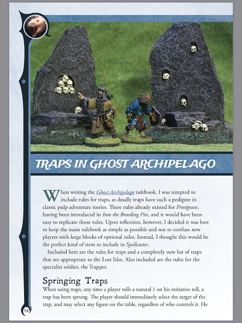 Adding Traps to Frostgrave: Ghost Archipelago