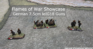 German 7.5cm leIG18 Guns