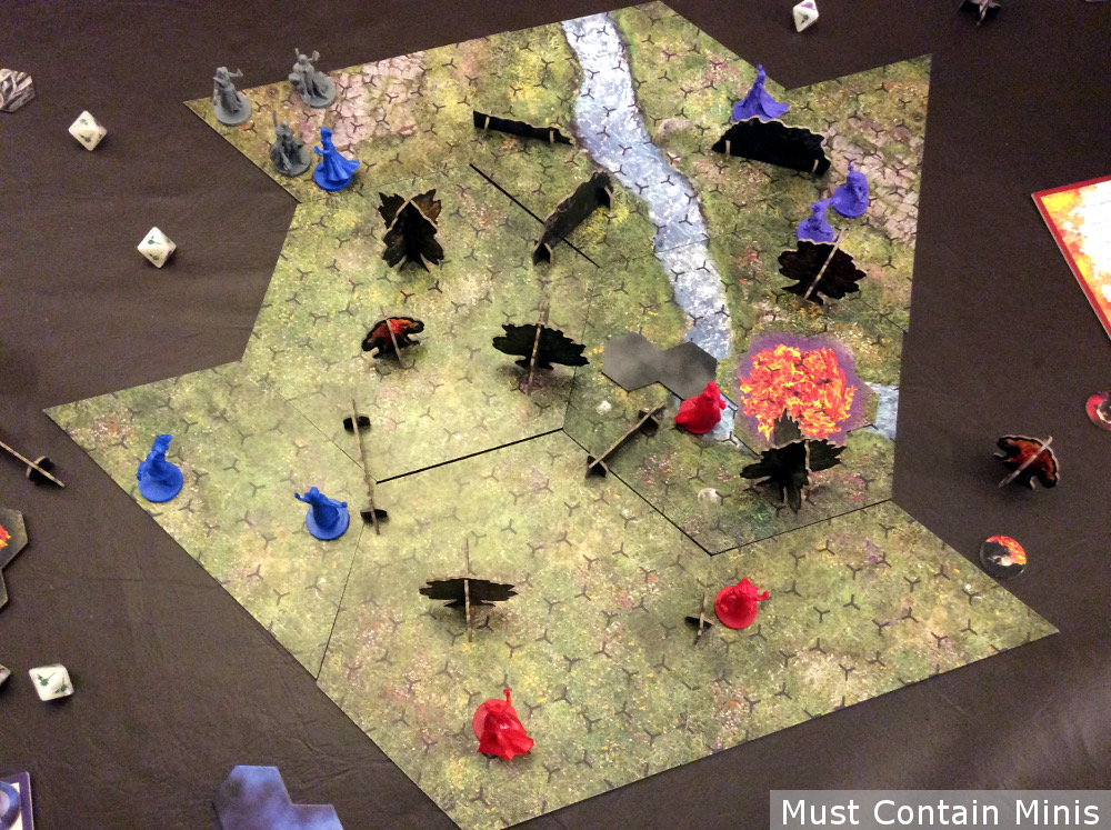Incantris Four Player Battle Report