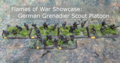 Flames of War Grenadier Scout Platoon Showcase (Painted 15mm miniatures)
