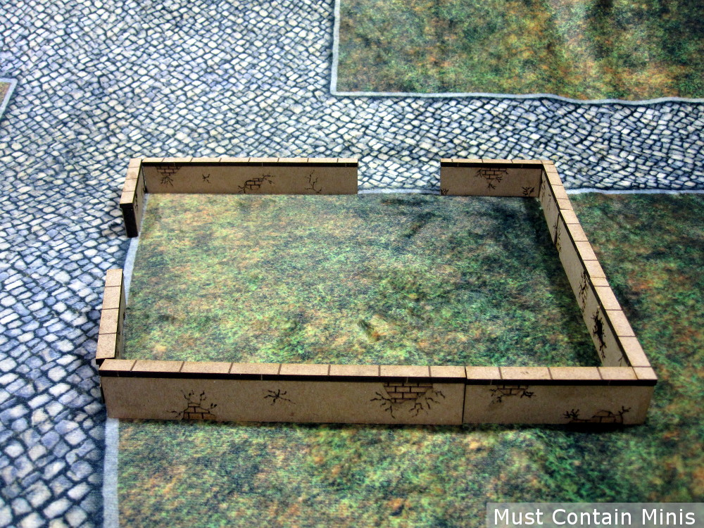 MDF City Fences Review for 28mm Gaming
