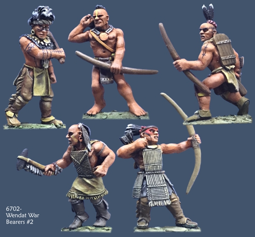 67002- Huron-Wendat War Bearers #2 by Crucible Crush