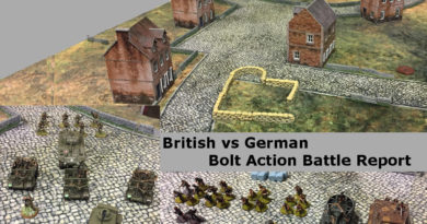 Title Image for a 1000 Point British vs Germans Battle Report