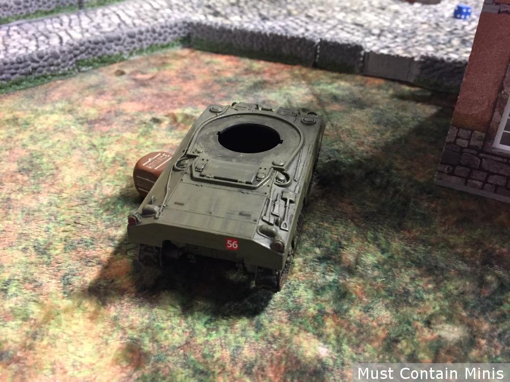Panzer IV kills a Sherman
